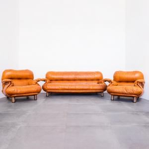 Set divano e poltrone Cobianchi x Insa Pelle