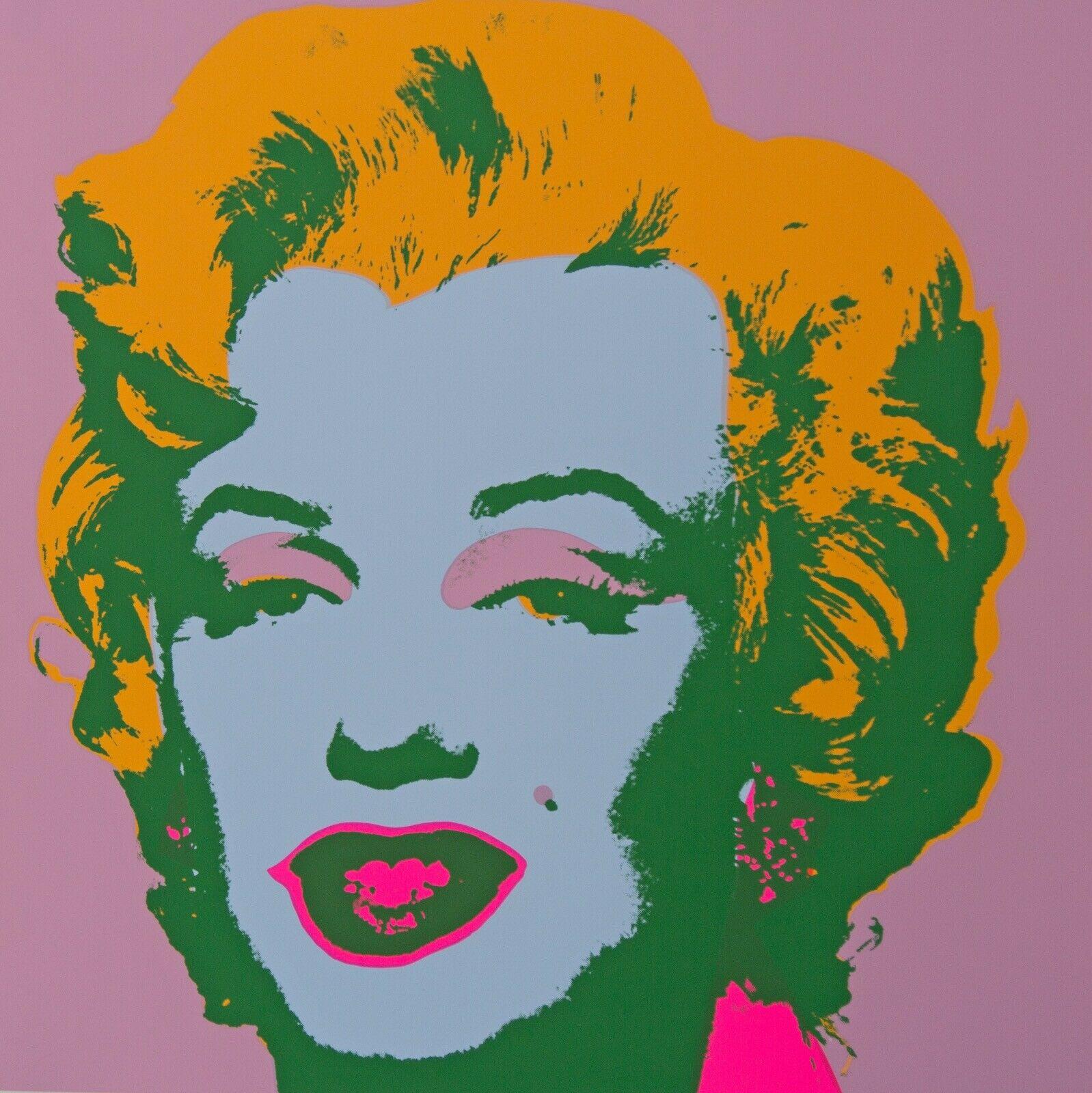 Serigrafia Marilyn Monroe - Sunday B. Morning BY After Warhol