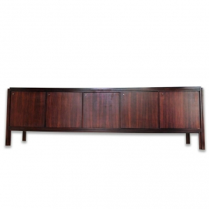 MOBILE SIDEBOARD IN LEGNO STILE MID CENTURY
