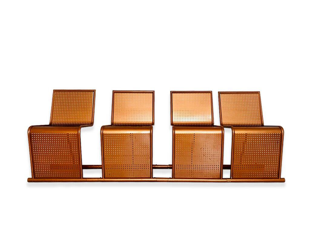 Set di Sedie da sala d'attesa in rame chair design ANNI ...