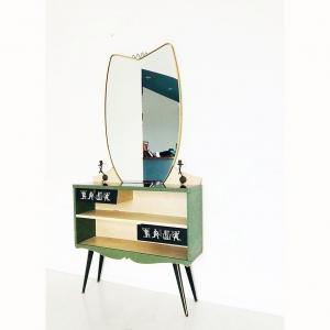 Toeletta Mascagni con specchio design 60's