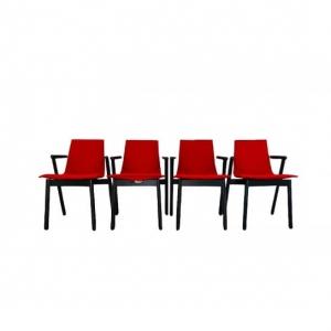 Quattro Sedie da pranzo vintage Cassina anni '80