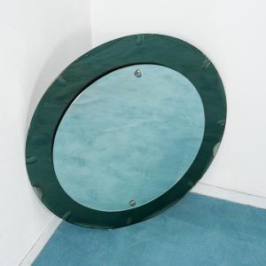 Specchio da parete tondo vintage design anni '50