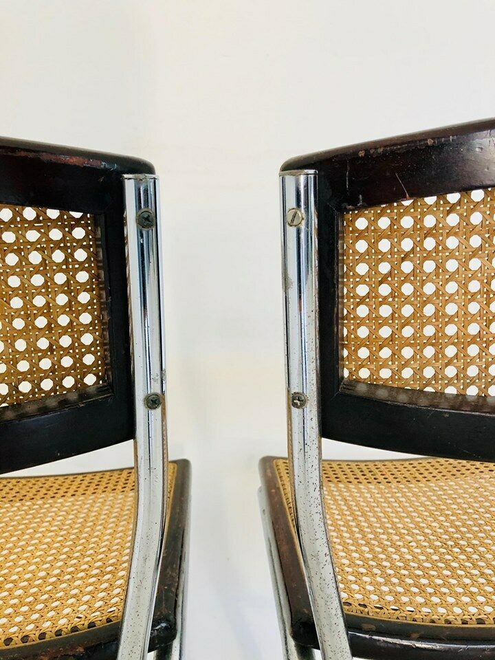 Coppia di sedie stile Cesca vintage anni '70 - Old Era
