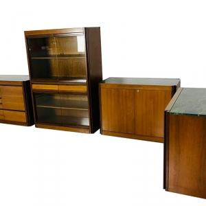 Set da ufficio MANGIAROTTI design anni '70