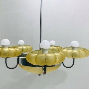 Lampadario 5 luci mid century vintage design anni 50
