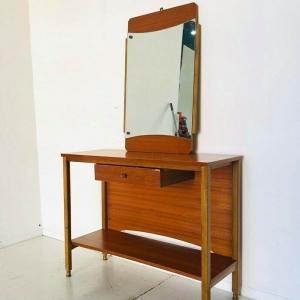 Mobile d'ingresso con specchio vintage design anni 60