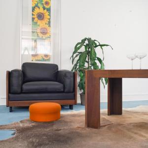 Poltrona e Tavolino 920 di SCARPA per CASSINA