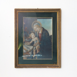 Quadro arte religiosa Madonna con Bambino
