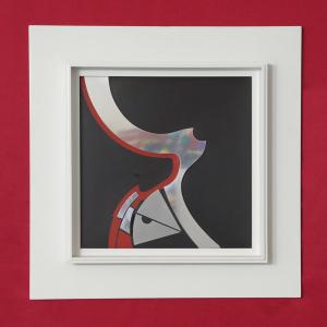 Quadro arte contemporanea opera astratta