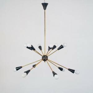 Lampadario Sputnik 12 luci
