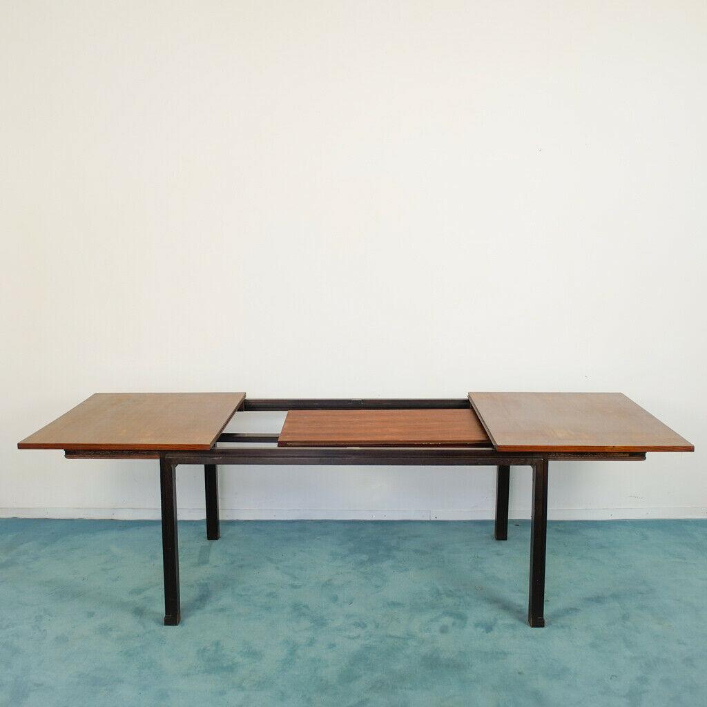 Tavolo da pranzo Angelo Mangiarotti 4 sedie design anni'60 ...