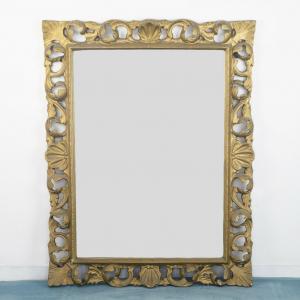 Specchio a parete rettangolare
