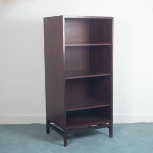 Scaffale libreria legno teak marrone