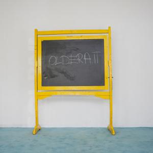 Lavagna scolastica gialla