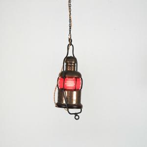 Lanterna lampada segnalatore a sagola