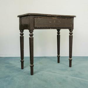 Scrivania tavolino nero Luigi Filippo Francia XIX secolo