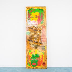 Enorme Quadro picture arte contemporanea stile pop art