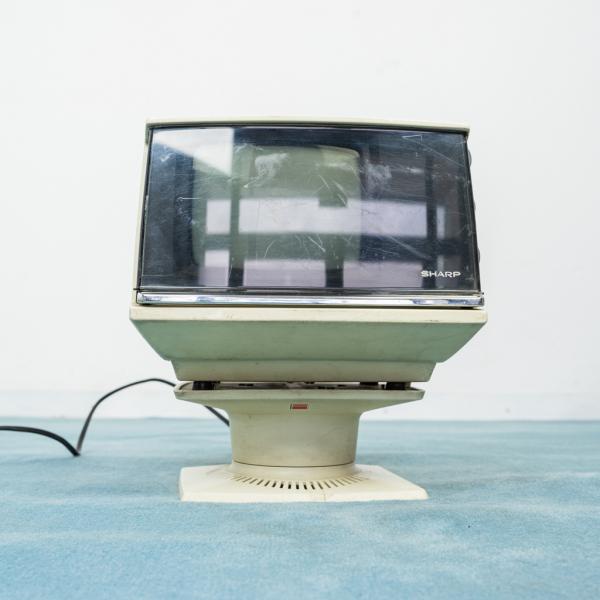 TV SHARP 5P-12G TV Space Age funzionante