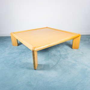 Tavolino Coffee table legno acero