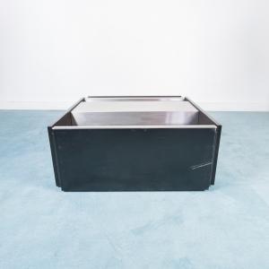 Tavolino Vintage in metallo design Anni 70