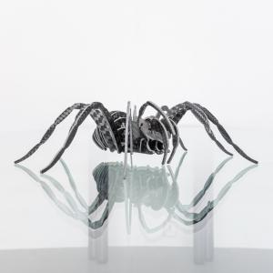 Statuetta Ragno in fibra di Carbonio nero