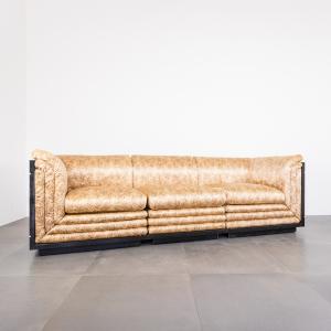 Divano Modulare Pierre Cardin anni 70/80 stile Regency