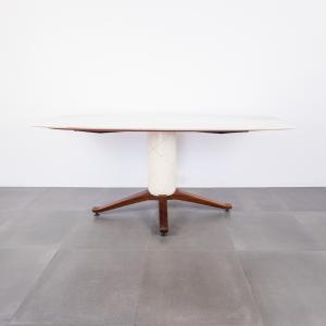 Tavolo da pranzo vintage Cantù Anni '40 in marmo