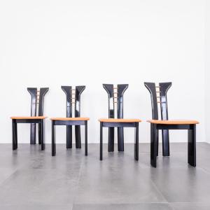 4 sedie scultoree Pierre Cardin design