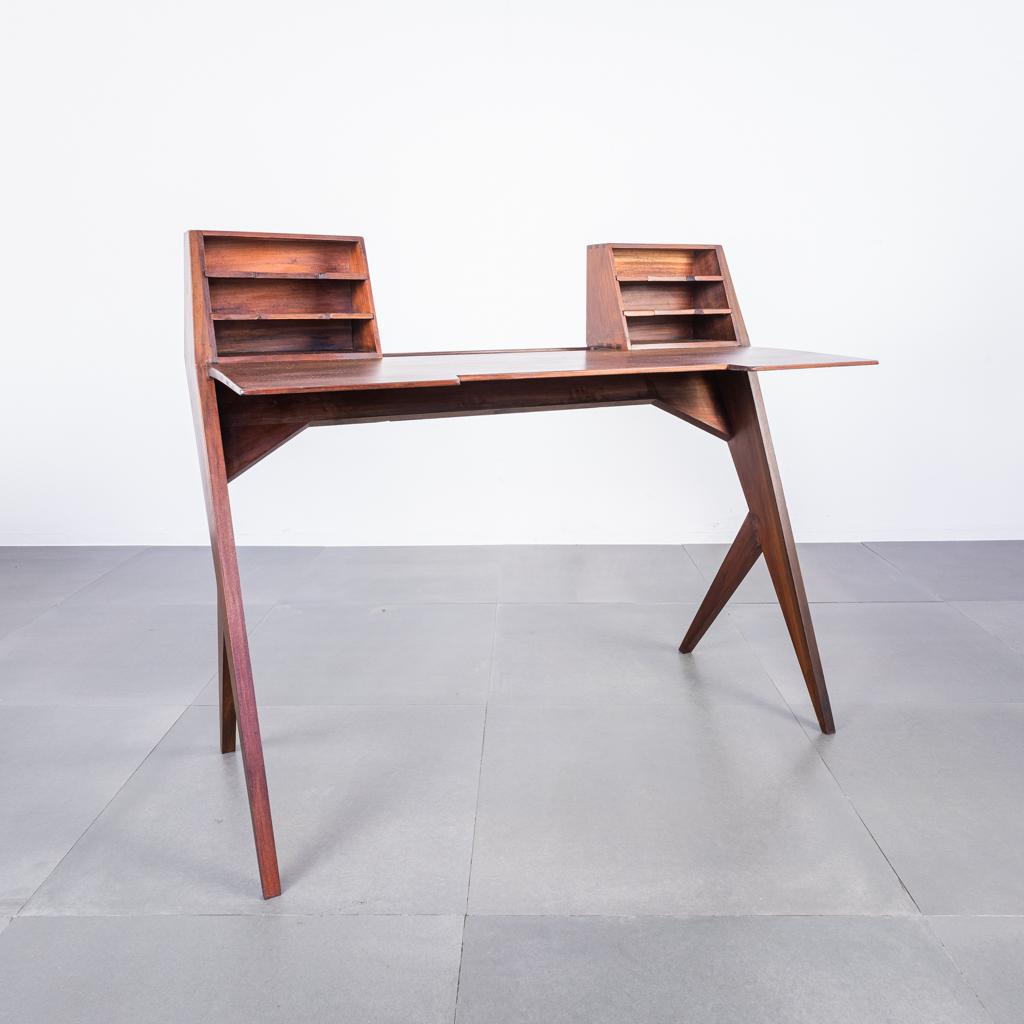 Scrivania Design Anni 50.Scrivania Scrittoio Vintage In Teak Design Anni 50 Old Era