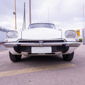 Citroën ds super bianca 2.0 99 cv 5 marce anni '70 Vintage