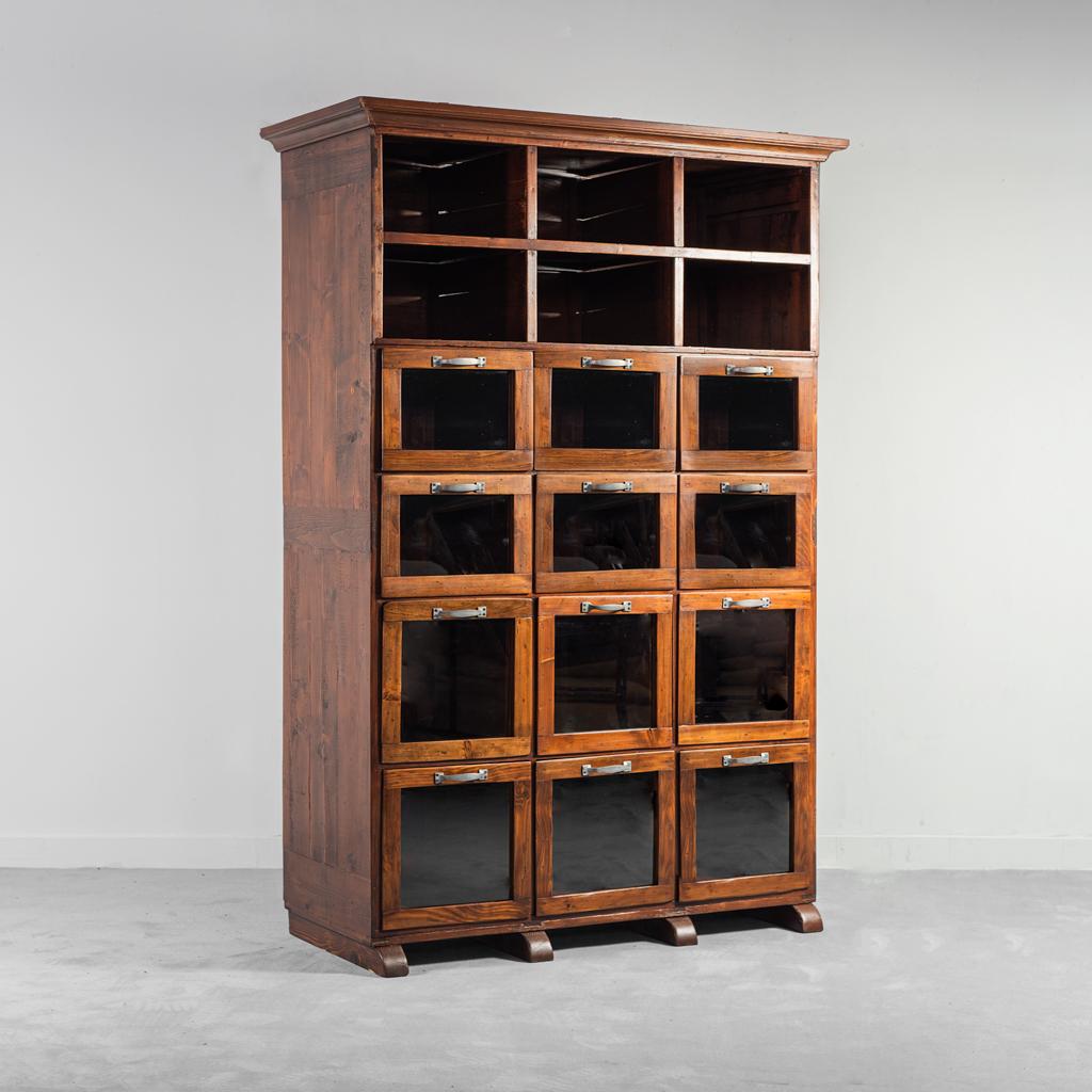 Mobile credenza cassettiera in legno anni '40 Vintage Modernariato