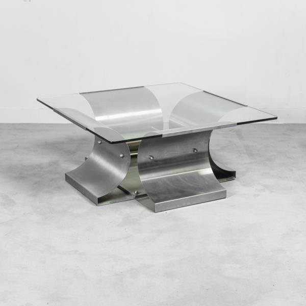 Tavolino da caffè Monnet Kappa anni '70 Vintage Modernariato