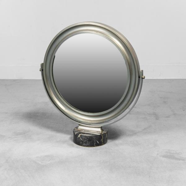 Specchio da tavolo Narciso Mazza anni '60 vintage modernariato
