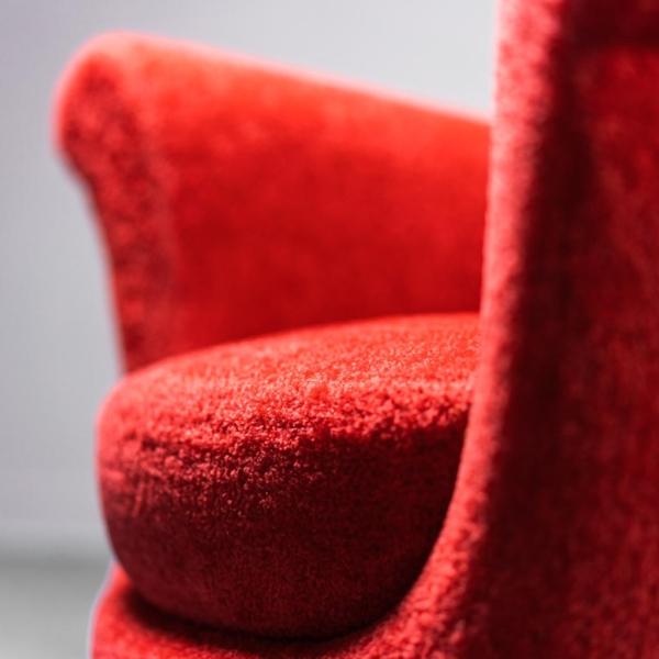 Set divano due poltrone bouclé anni '50 Vintage Modernariato