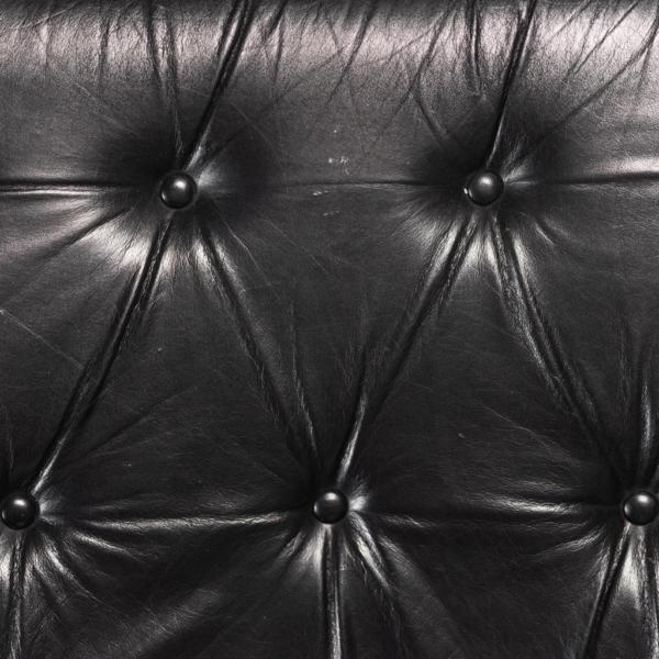 Divano 4 moduli angolare pelle anni '70 Vintage Modernariato